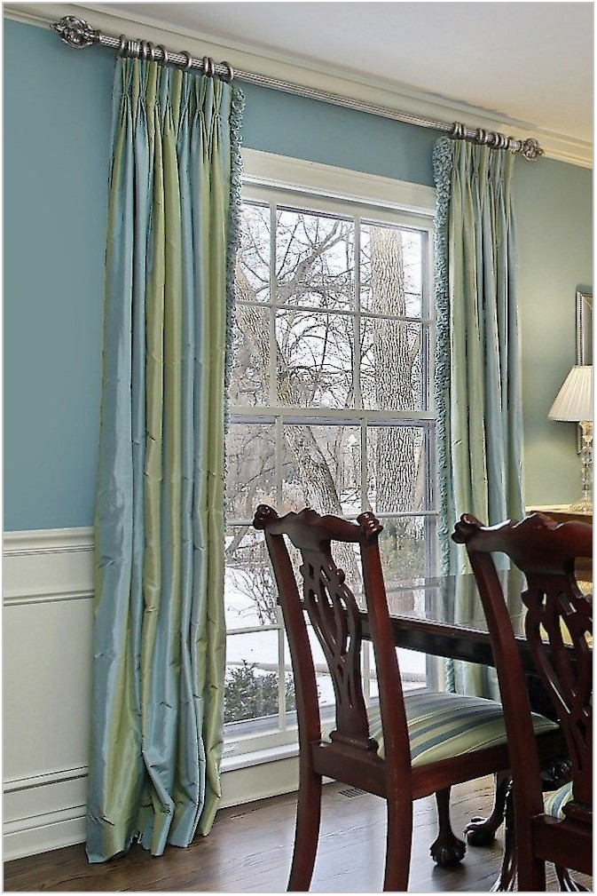 Formal Dining Room Window Treatments