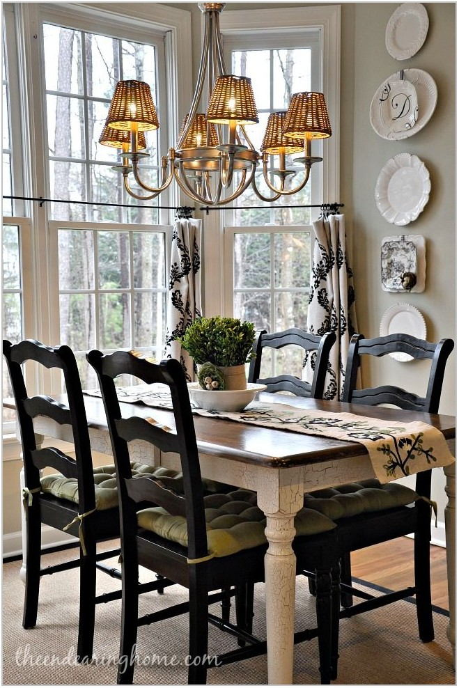 French Country Dining Room Table And Chairs