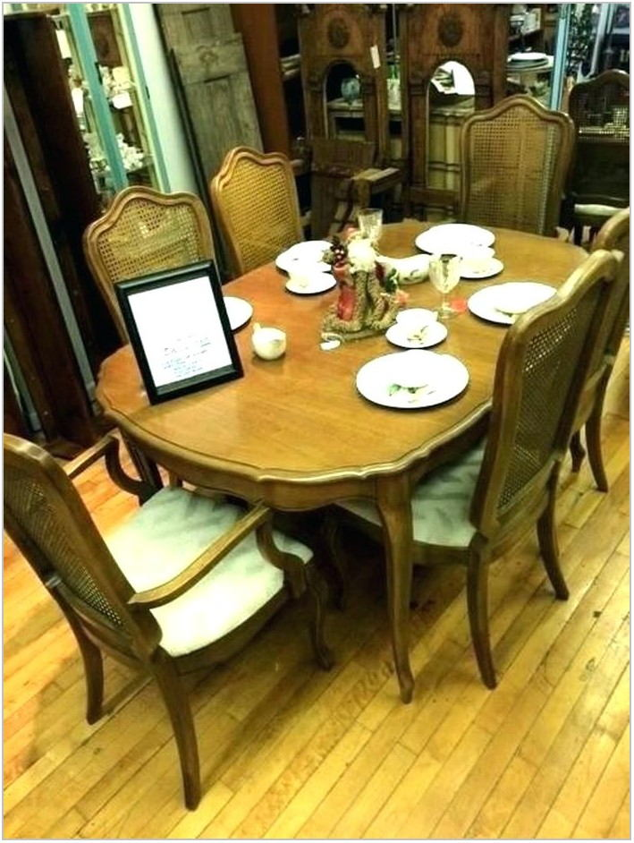 Fruitwood Dining Room Set