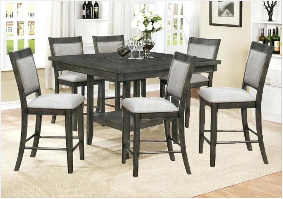 Glambrey Counter Height Dining Room Table Set