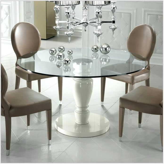 Glass Dining Room Table For 8