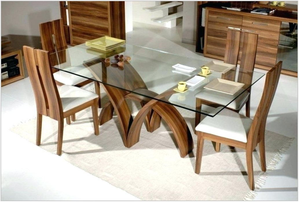 Glass Dining Room Tables Rectangular