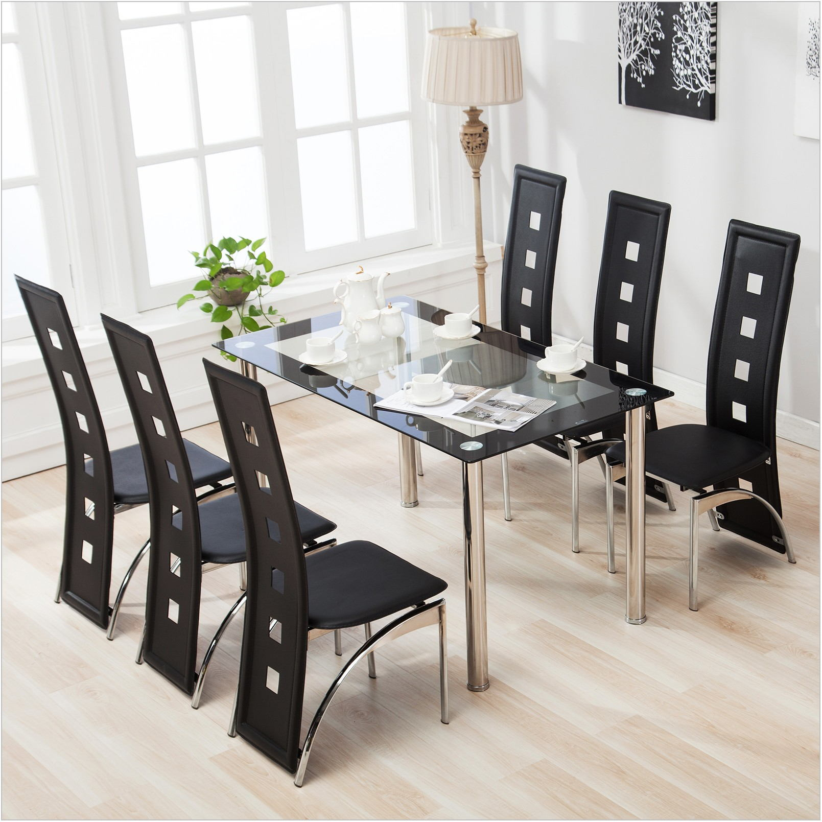 Glass Table Dining Room Furniture