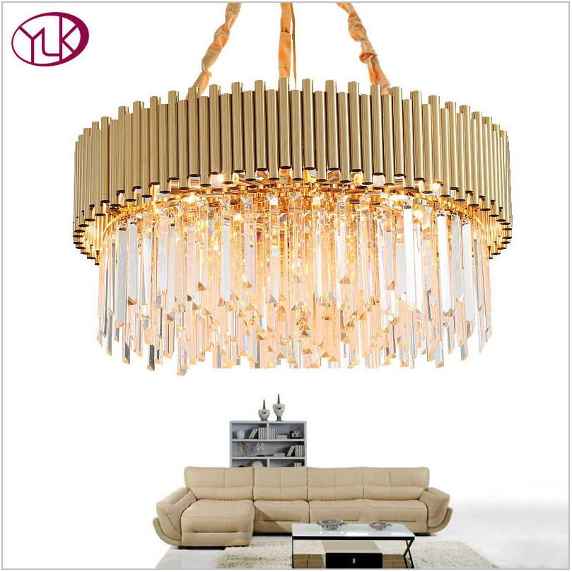 Gold Light Fixtures For Dining Room