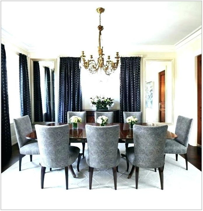 Gray Dining Room Curtains