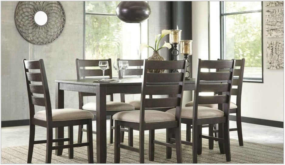 Gray Formal Dining Room Set