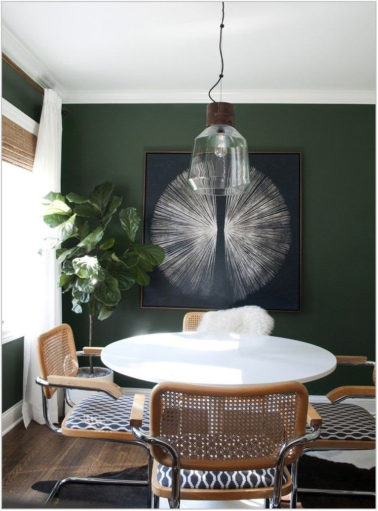 Green Paint Colors For Dining Room