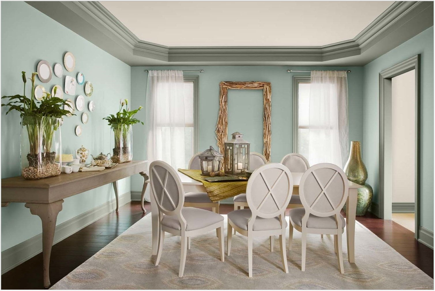 Green Paint For Dining Room
