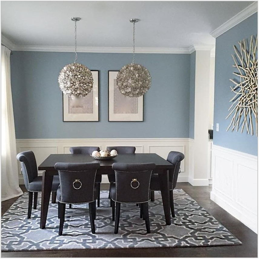 Grey Dining Room Paint Colors