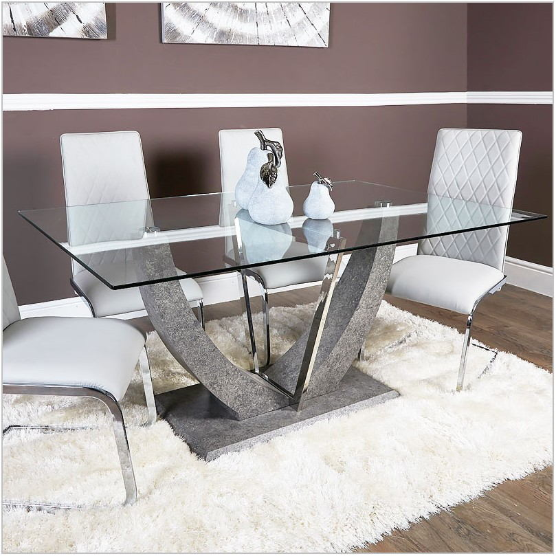 Grey Dining Room Table Chairs