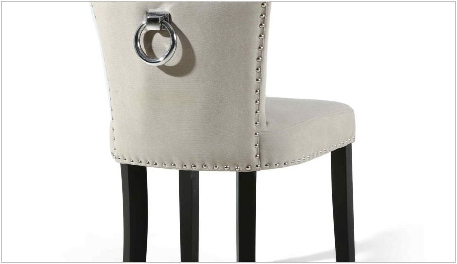 Grey Upholstered Dining Room Chairs