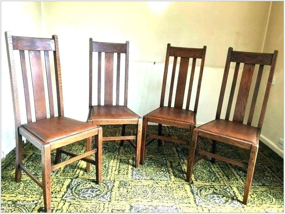 High Back Leather Dining Room Chairs
