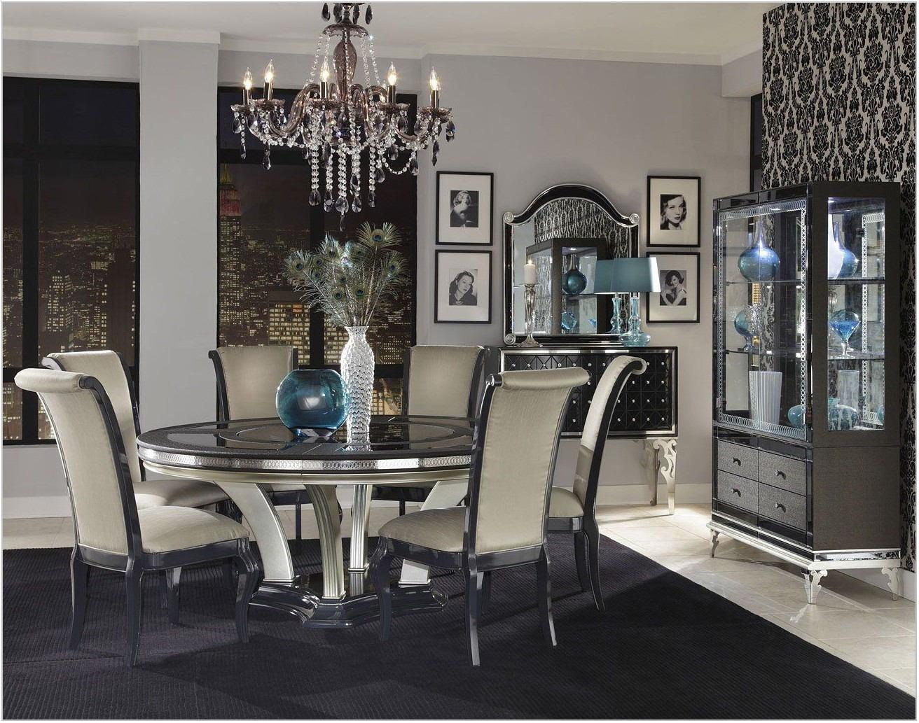 Hollywood Swank Dining Room Set