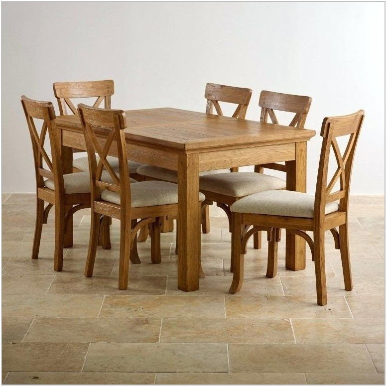 Honey Oak Dining Room Chairs