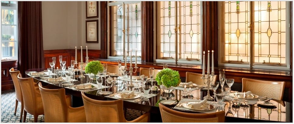 Hotels With Private Dining Rooms