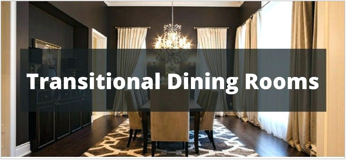 Houzz Transitional Dining Rooms