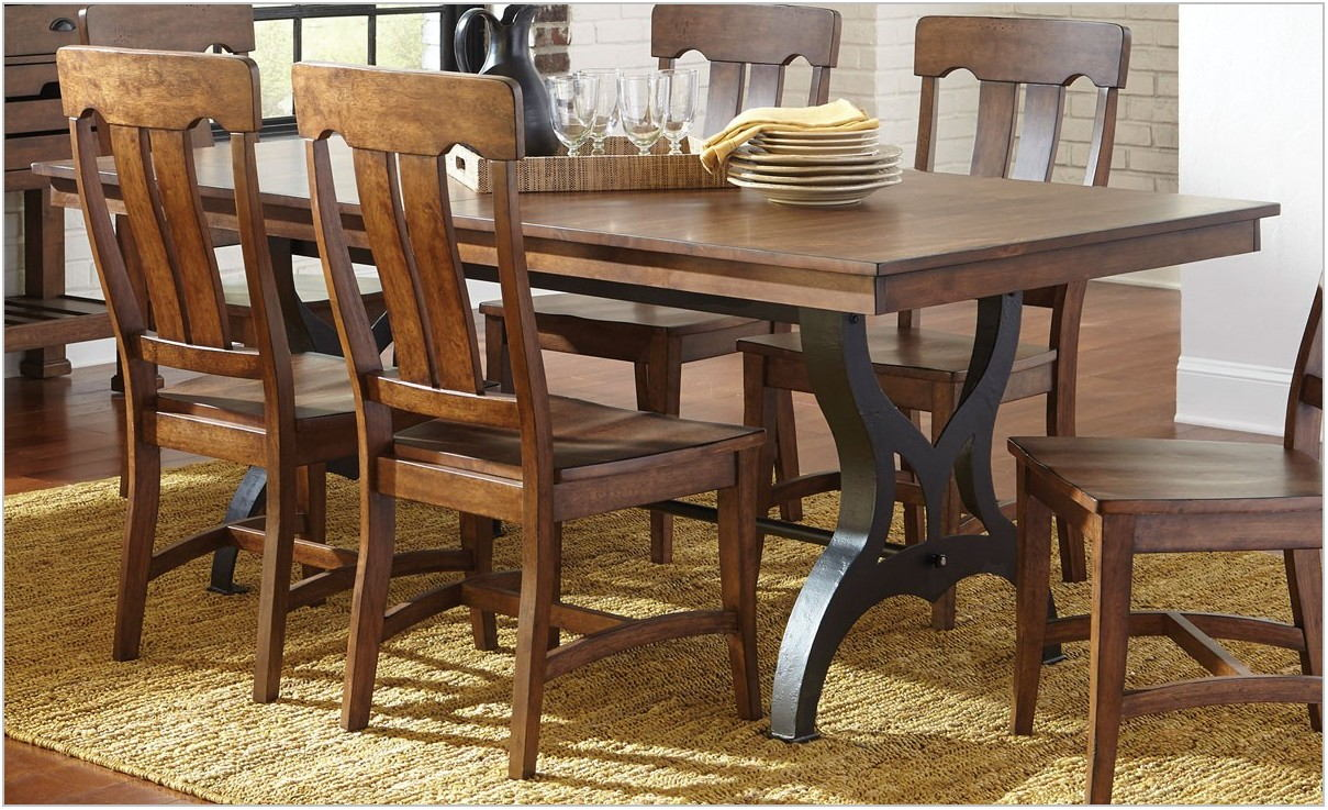 Industrial Dining Room Table And Chairs