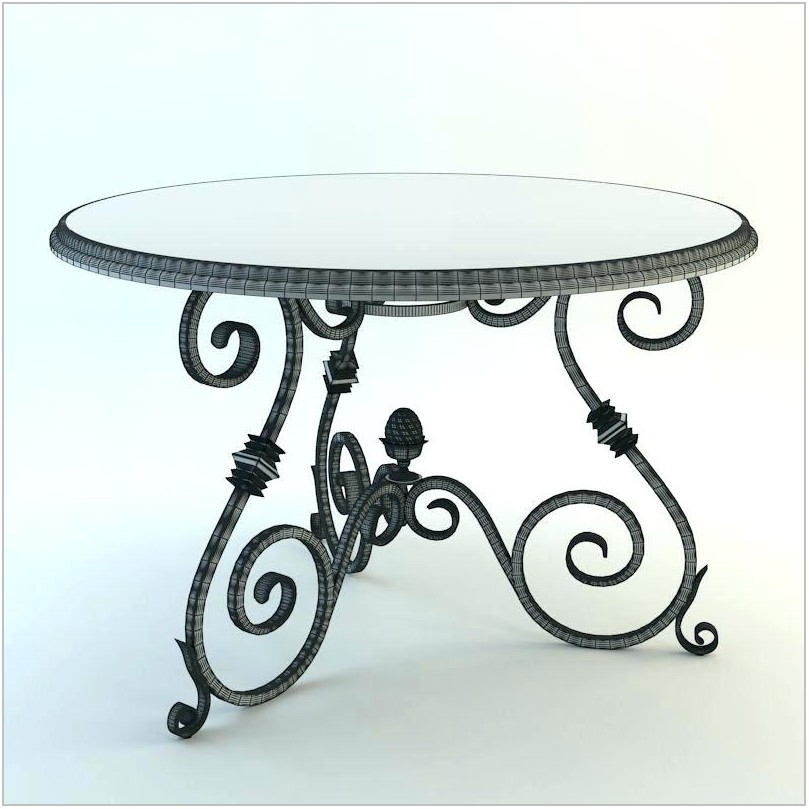 Iron Dining Room Table Legs
