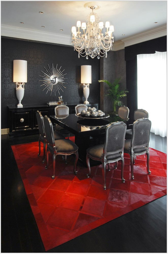 Italian Lacquer Dining Room Furniture