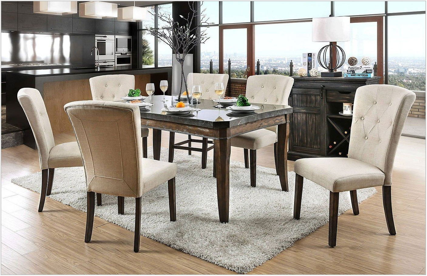 Ivory Dining Room Sets