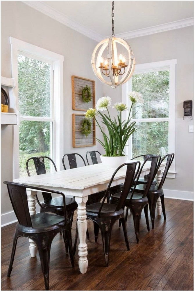 Joanna Gaines Dining Room Lighting