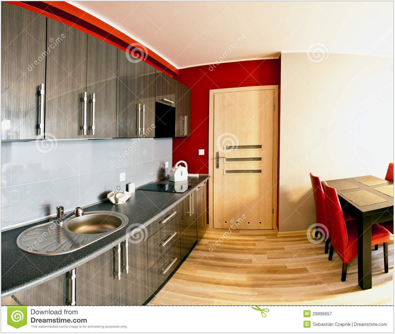Kitchen And Dining Room Combined