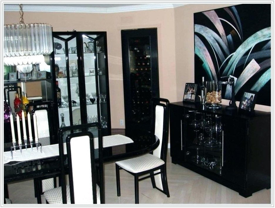 Lacquer Dining Room Furniture