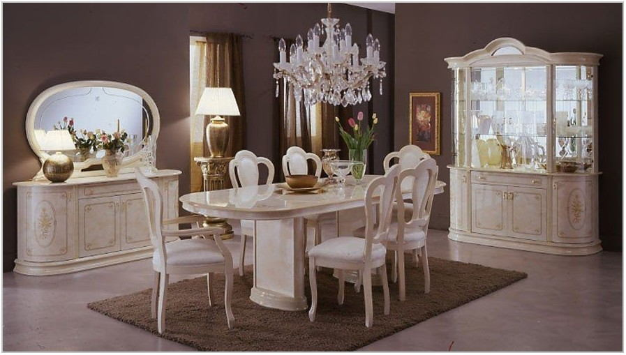 Lacquer Dining Room Sets
