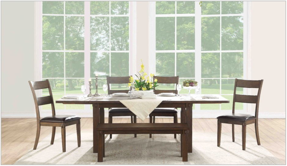 Large Black Dining Room Table