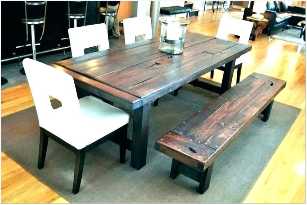 Large Dining Room Table With Benches