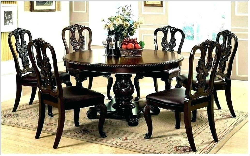 Large Extendable Dining Room Table