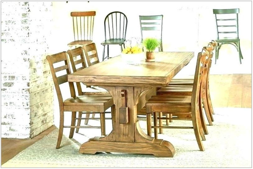 Large Farmhouse Dining Room Table