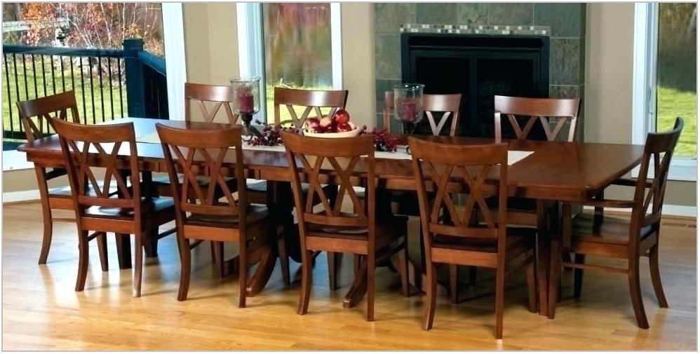 Large Square Dining Room Table Seats 12