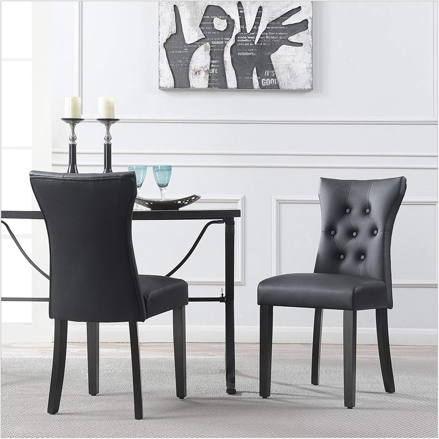 Leather Side Chairs Dining Room