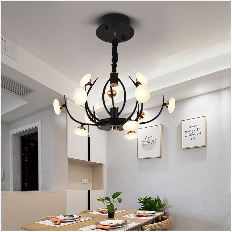 Led Chandelier Dining Room
