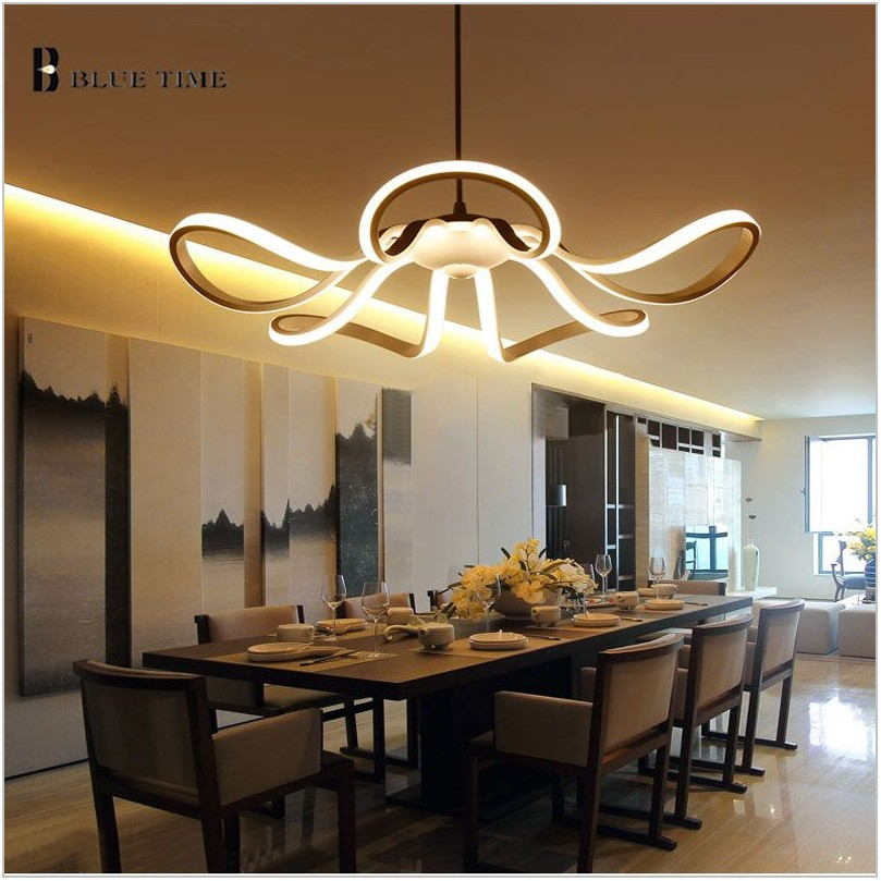Led Dining Room Chandeliers