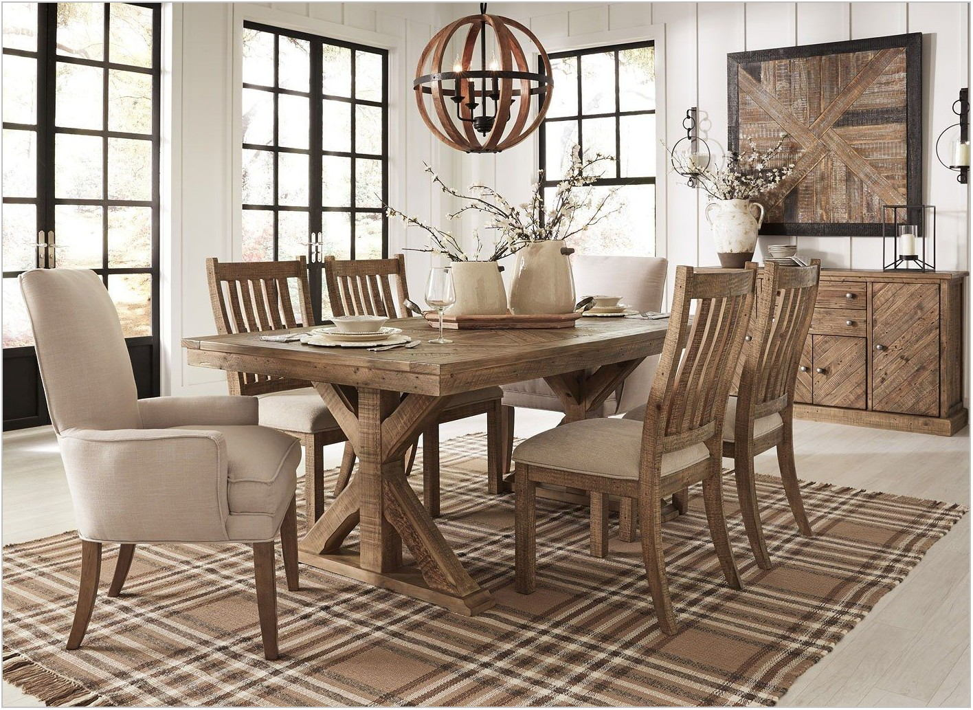 Light Brown Dining Room Chairs