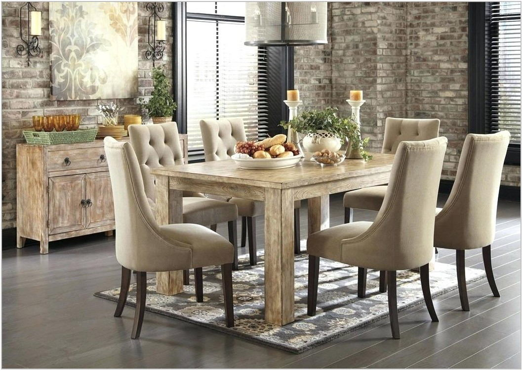 Light Colored Dining Room Tables