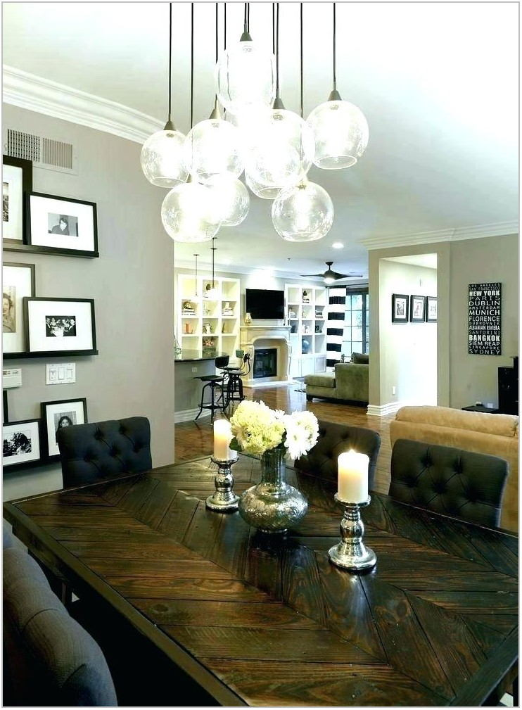 Light Fixtures For Dining Room Table