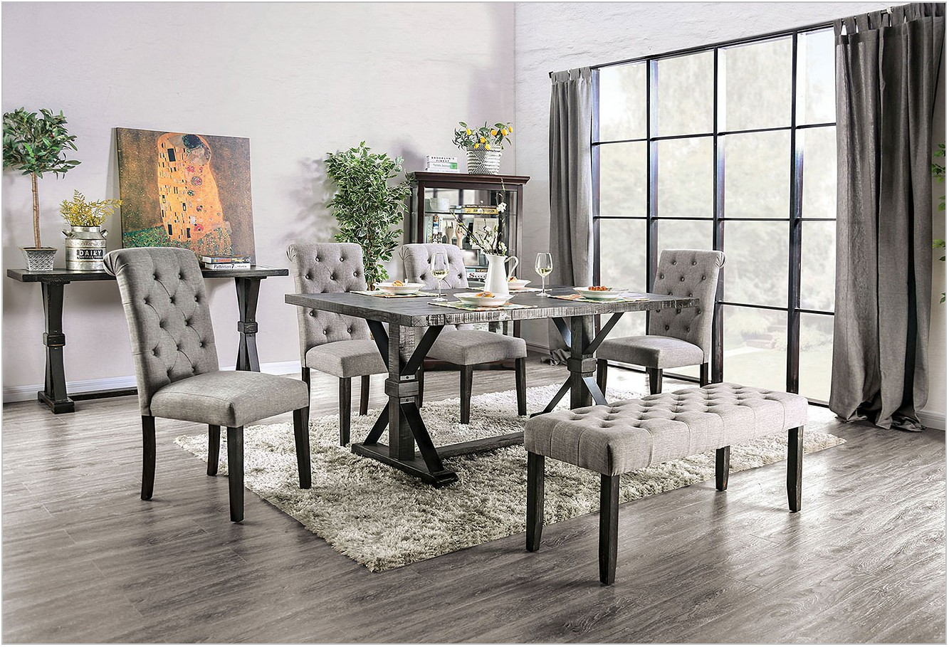 Light Gray Dining Room Set