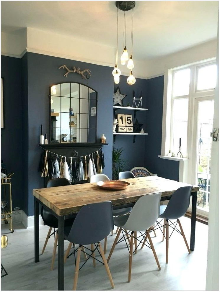 Light Grey Dining Room