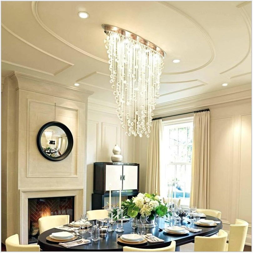 Lighting For Dining Rooms With Low Ceilings