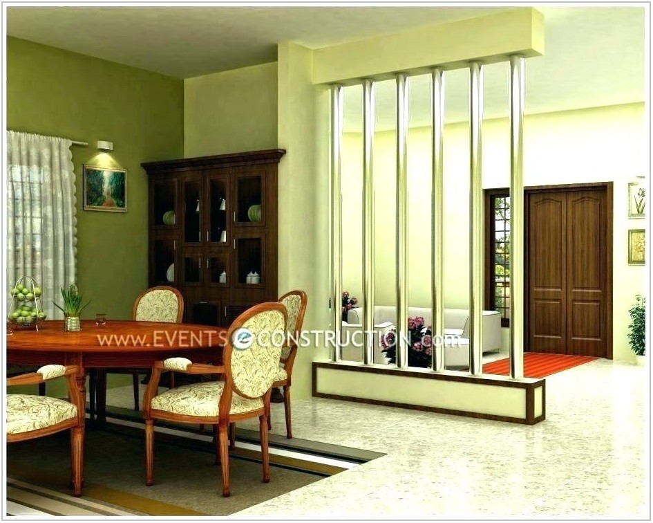 Living Room And Dining Room Divider Design