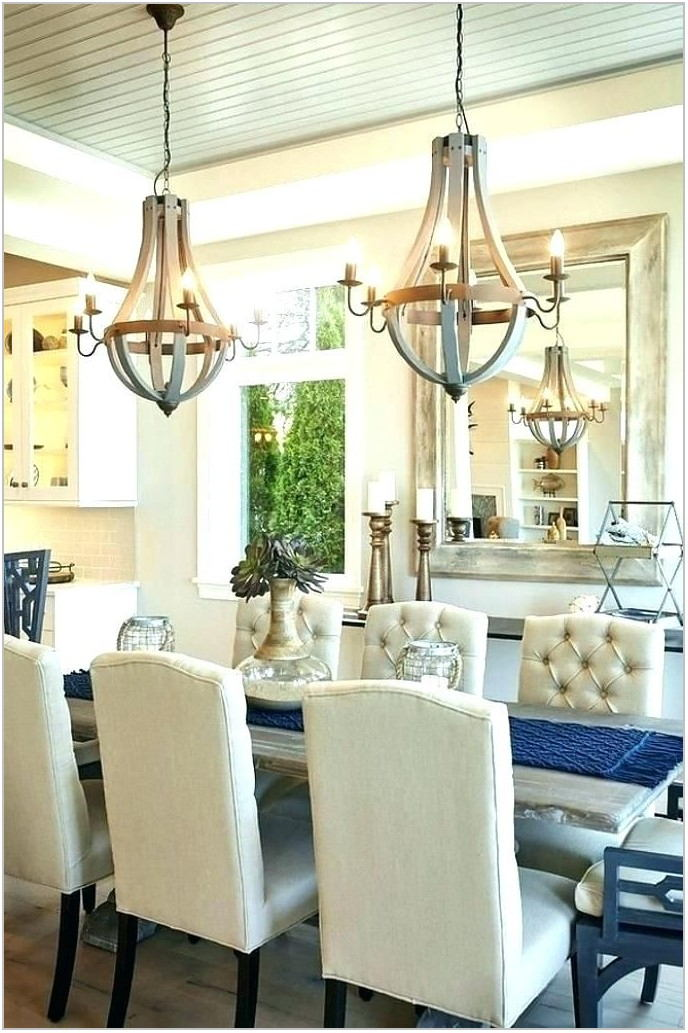 Long Dining Room Chandeliers