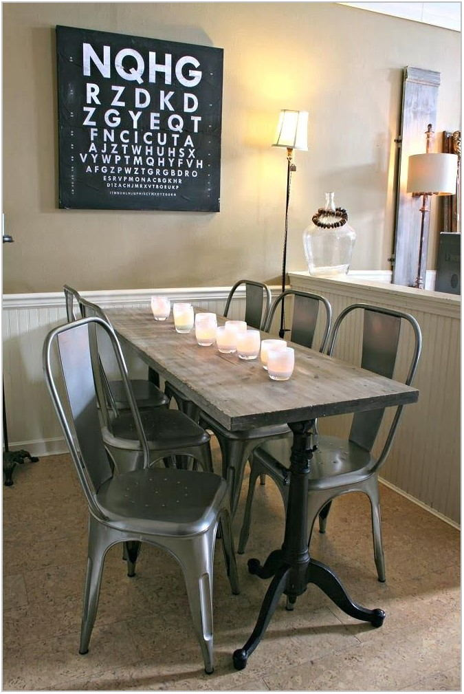 Long Skinny Dining Room Table