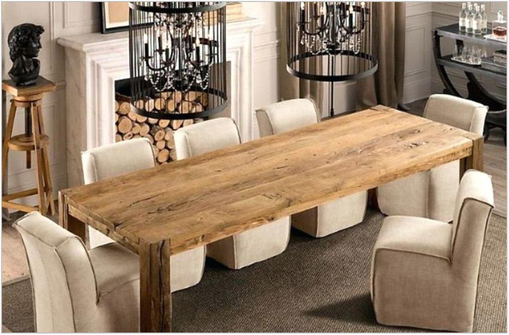 Long Thin Dining Room Tables