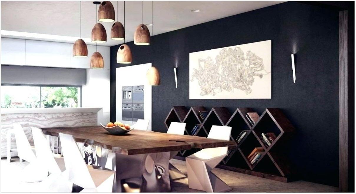 Matte Black Dining Room Light