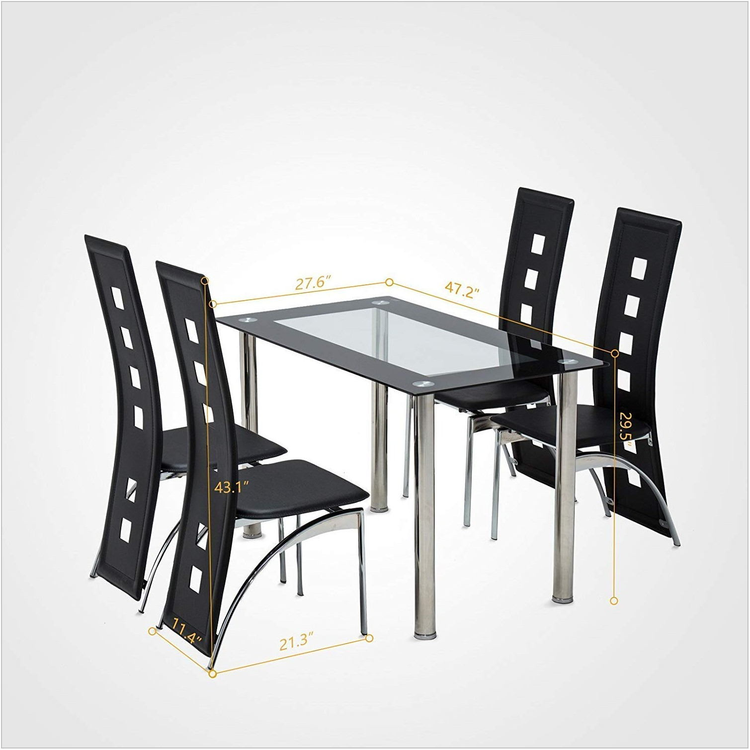 Mecor Dining Room Table Set