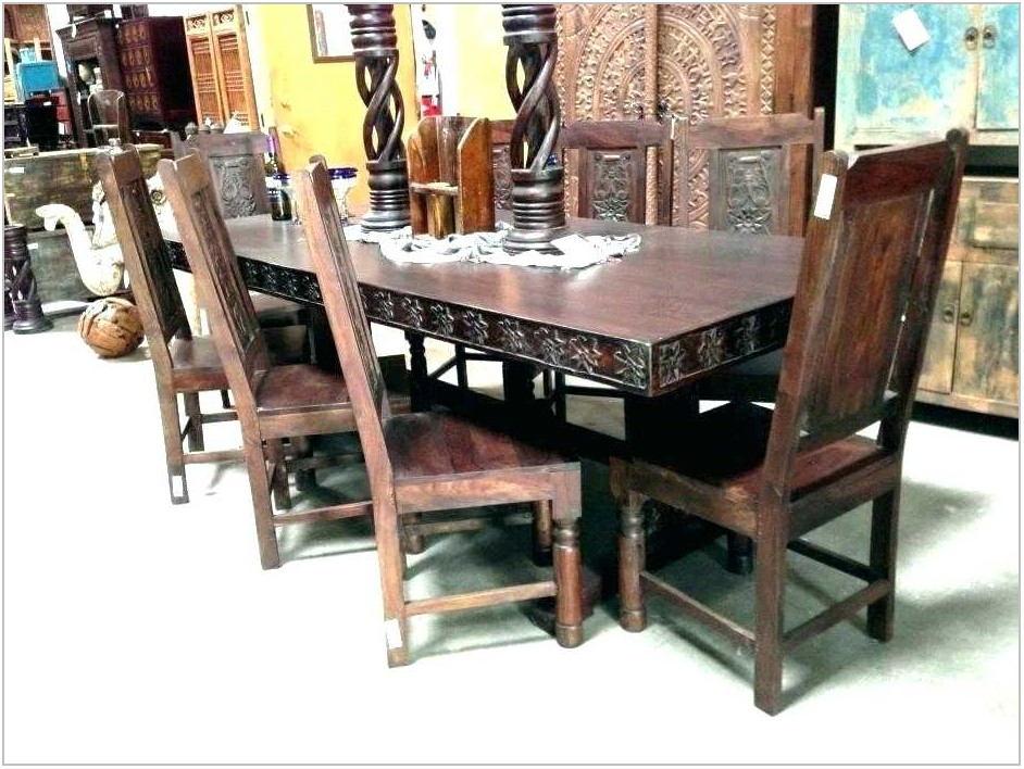 Medieval Dining Room Set
