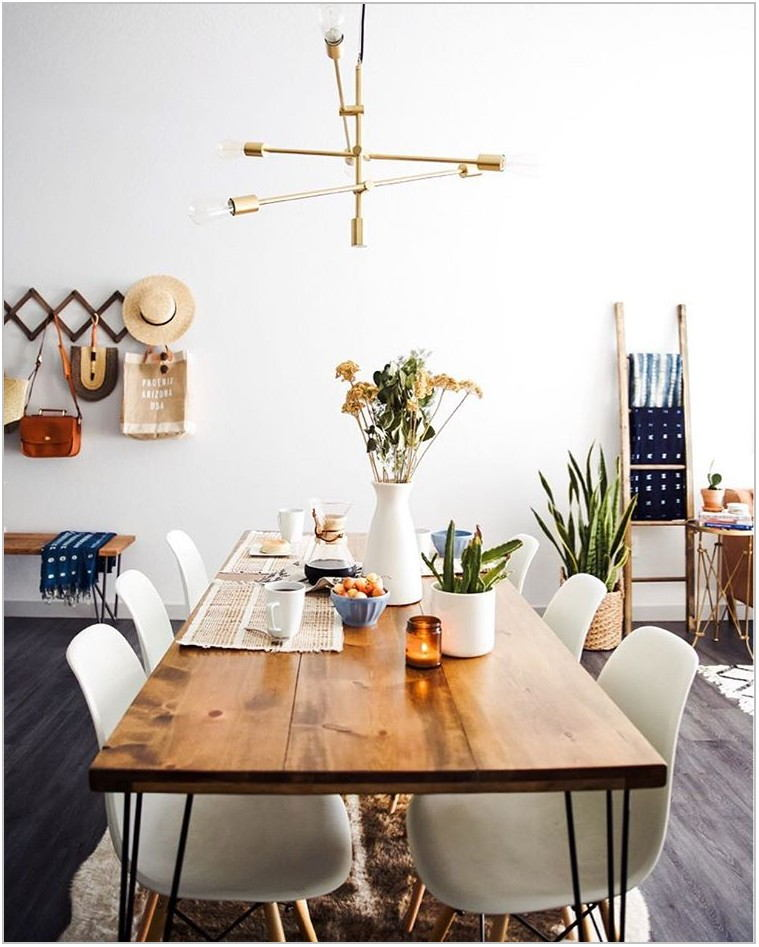 Mid Century Dining Room Rug